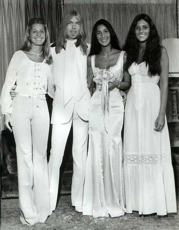 June 30, 1975–Gregg Allman & Cher.
