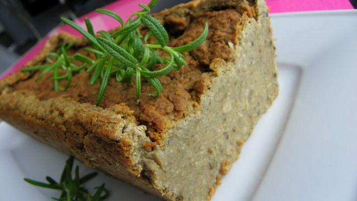 Pasztet wegetarianski z kasza jaglana, fasola, grzybami...