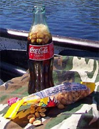 Coca Cola and Peanuts!