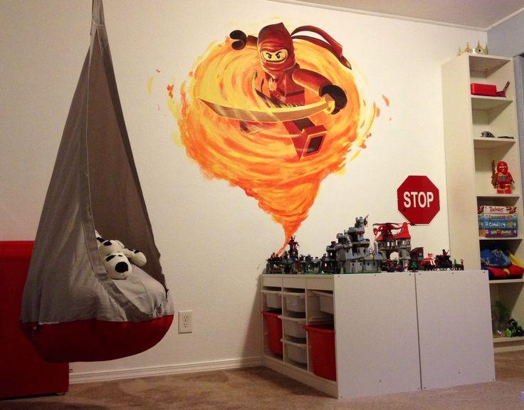 Lego Ninjago room