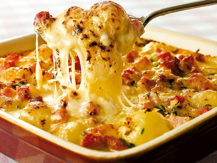 Burgonyás csoda – fincsi és nagyon sajtos, mindenki szereti :)