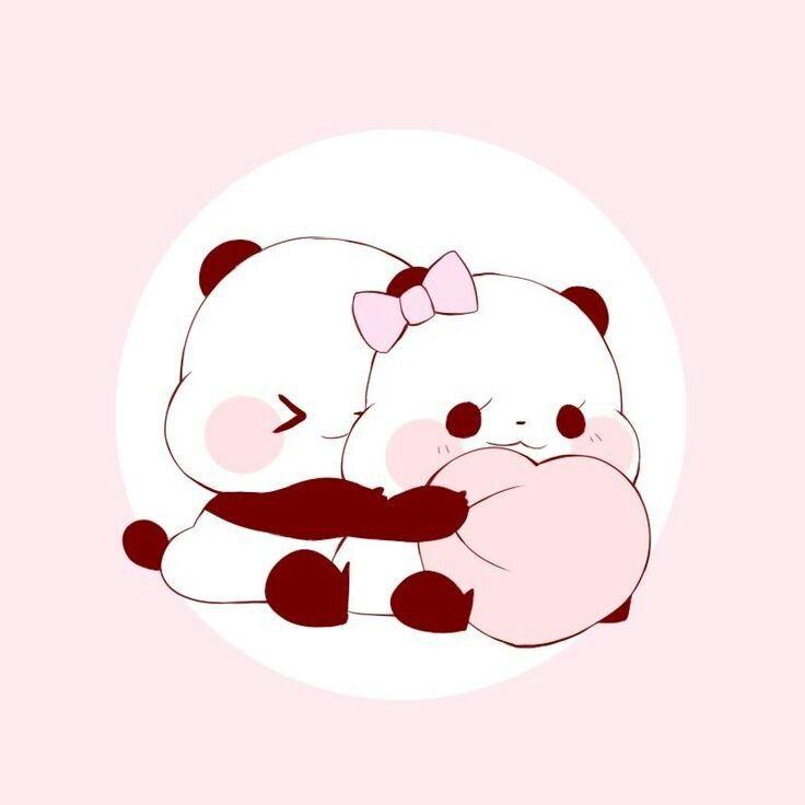 Pandas En 2019 Dibujos Lindos De Amor Dibujos Kawaii Y