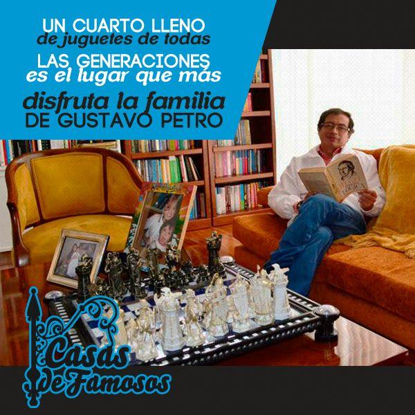 Conoce los detalles de la #casa de Gustavo Petro http://www.metrocuadrado.com/decoracion/content/la-casa-de-gustavo-petro-en-imagenes