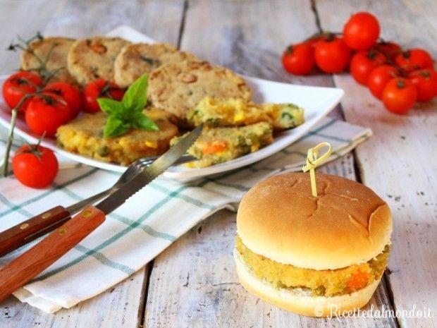 Veggie Burger  Ideali anche per far scegliere la verdura ai più piccoli! ;) http://bit.ly/Veggie-burger