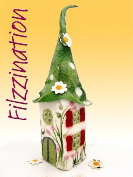 386 best Domki images on Pinterest   Fairy homes, Amigurumi patterns ...