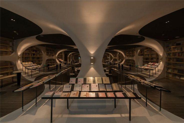 Sebuah toko buku yang baru-baru ini dibuka di Shanghai, China yaitu Zhongshuge Yangzhou menjadi daya tarik tersendiri dengan desain yang menakjubkan.