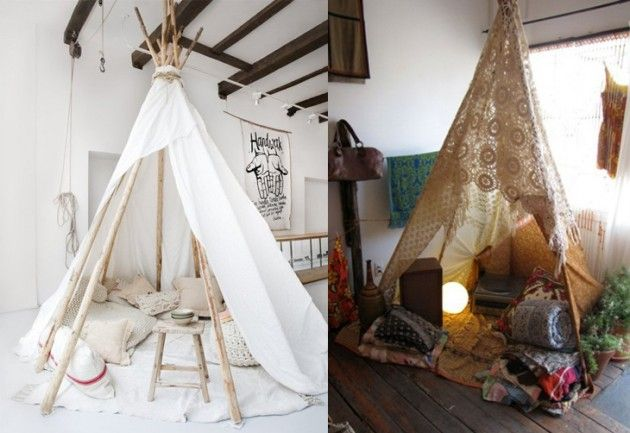 27 best images about tepee 39 s on pinterest play tents kids tents and tent for How to make a tent in your living room