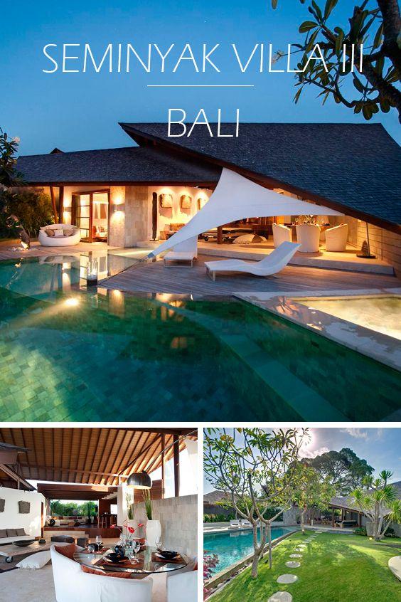 SEMINYAK VILLA III | BALI - Luxus-Ferienvilla mit 3 Schlafzimmern, Teil eines privaten Villen-Anwesens