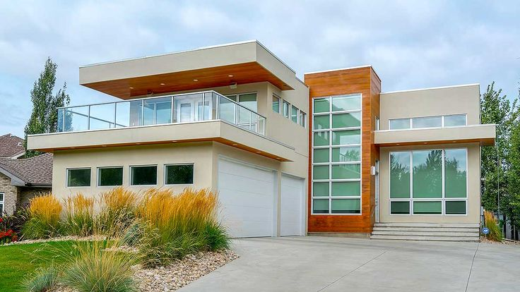 Architectural Designs Modern House Plan 81647AB gives you 3 beds and over 2,500 square feet of living on two floors. Ready when you are. Where do YOU want to build?