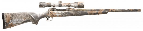 Savage Arms Model 10XP Predator Hunter Package Snow