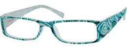 282436 Plastic Full-Rim Frame with Spring Hinges