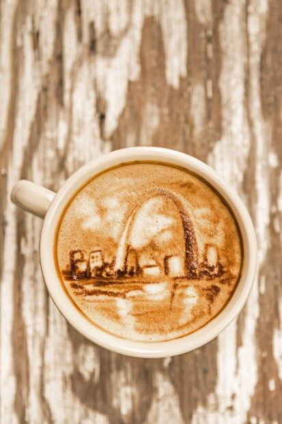 Latte Art by Mud House owner Casey Miller || 21 buzzworthy St. Louis coffeehouses : Entertainment