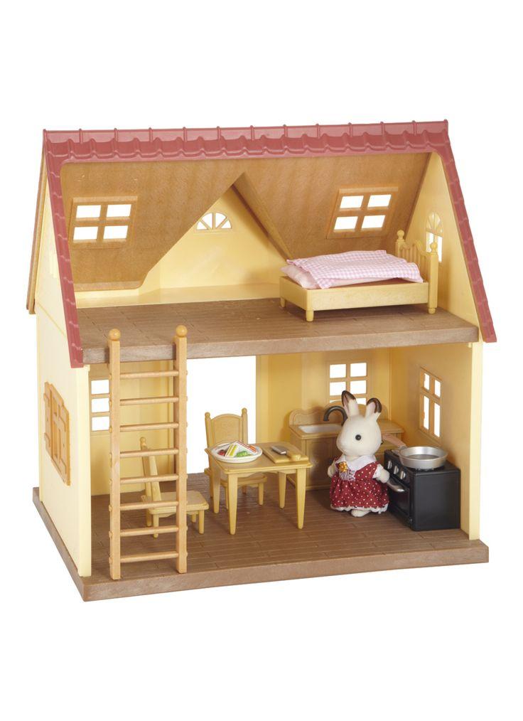 sylvanian families 2783 starter house set de bijenkorf. Black Bedroom Furniture Sets. Home Design Ideas