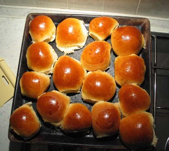 Panini dolci! con il prosciutto cotto sono buonissimi :D