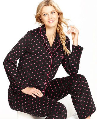 Charter Club Mink Top and Pajama Pants Set - CLEARANCE & CLOSEOUT - Sale - Macy's