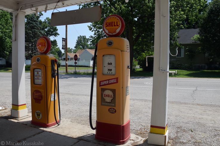 """"""" Russell Soulsby Shell Station """" in Mt. Olive Illinois  """" Route 66 on My Mind """" Route 66 blog ; http://2441.blog54.fc2.com/ https://www.facebook.com/groups/529713950495809/ http://route66jp.info/"""