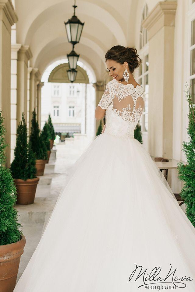 Amanda Novias New Off Shoulder Elegant Lace Wedding Dresses Vestidos De Novia Robe De Mariage