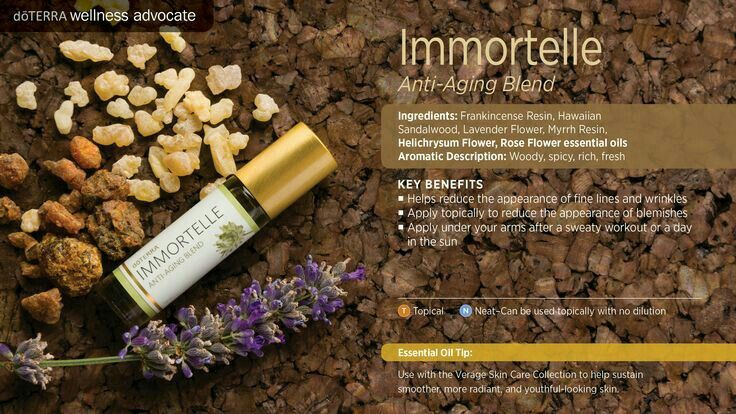 Immortelle essential oil blend by doTERRA How to use,  tips,  and tricks nontoxic and safe skin care using essential oils!!!