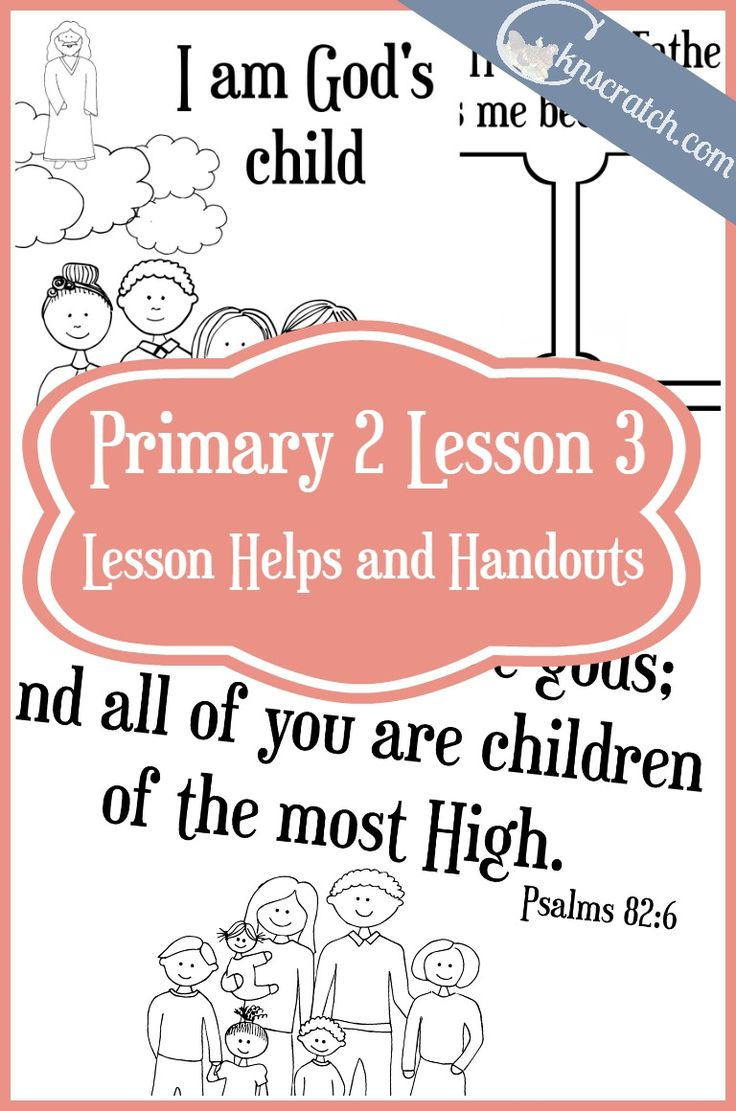 14 best Primary images on Pinterest | Primary lessons, Church ideas ...