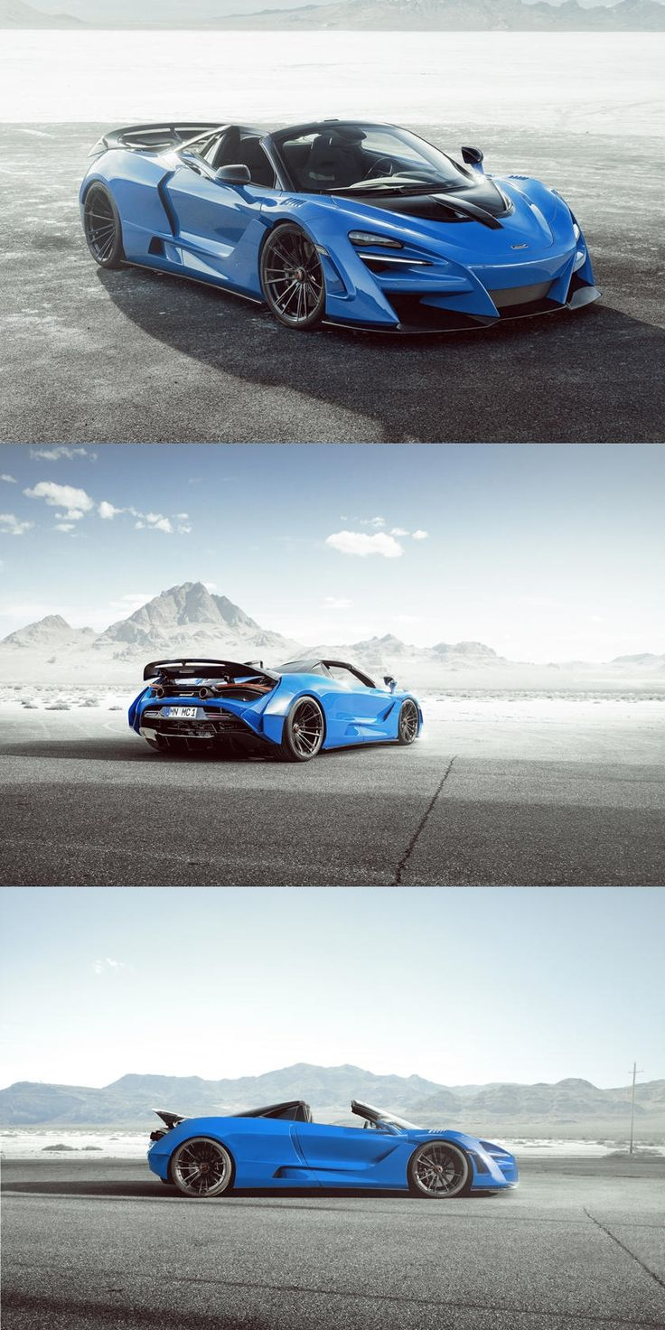 800HP McLaren 720S Spider Widebody Looks Spectacular in