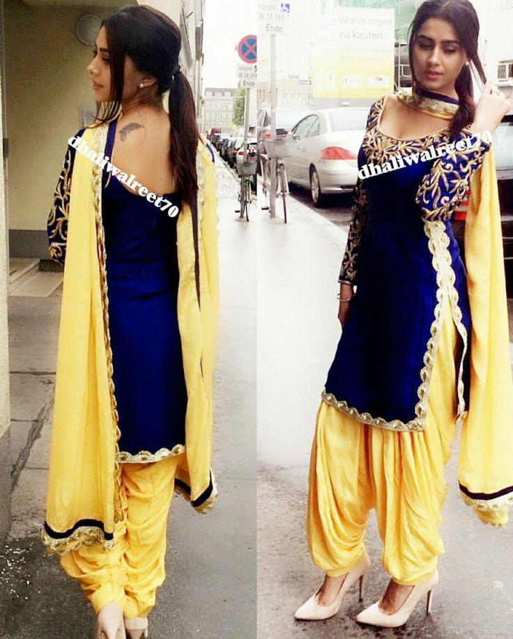 610 best Punjabi Suits ♡ images on Pinterest | Designer ...
