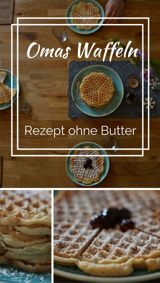 Waffeln Ohne Butter Waffelrezept Tierwaffeln Backen Pinterest