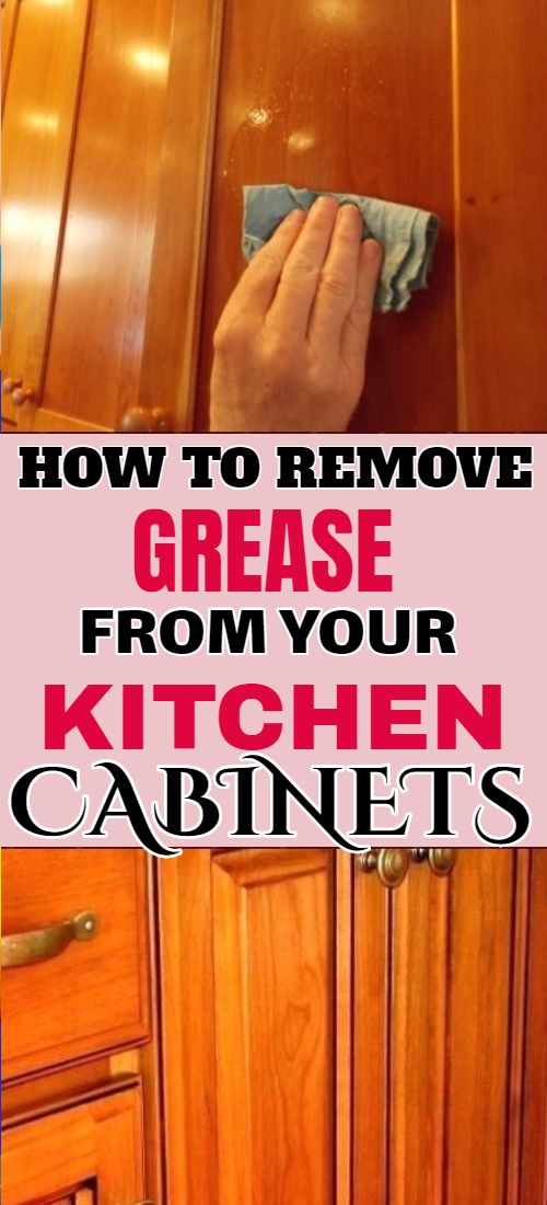 How To Remove Grease From Wooden Cabinets Clean Kitchen Cabinets Cleaning Cabinets Cleaning Hacks