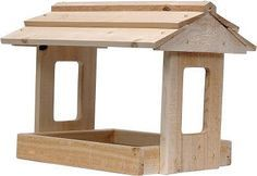 Building a platform bird feeder is a great weekend project.