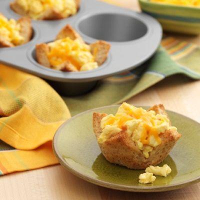 how to make scrambled eggs and ham