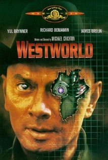 Westworld (1973) A robot malfunction creates havoc and terror for unsuspecting vacationers at a futuristic, adult-themed amusement park.