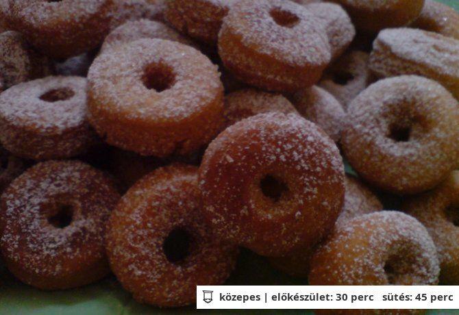 Olajban sült vajas gyűrű | NOSALTY – receptek képekkel