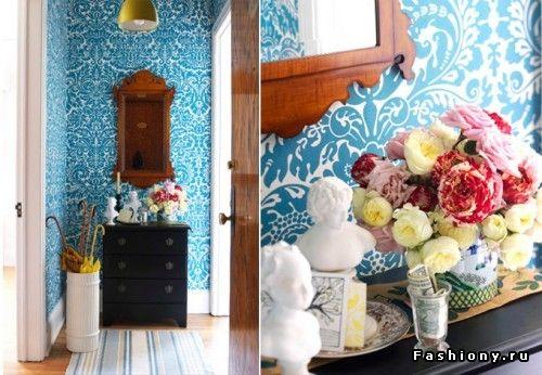 Такой прекрасный бирюзовый / интерьер в бирюзовом цвете