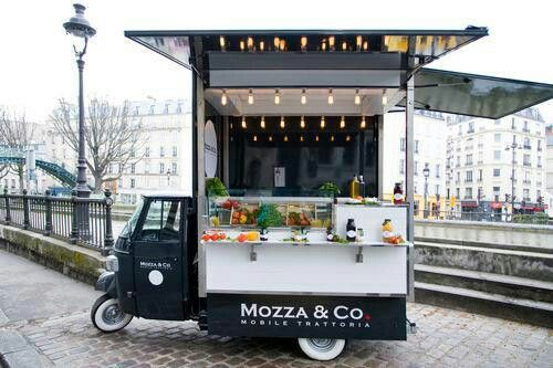 Geeze...Europe even has cool food trucks!mobile kitchen, mobile canteen, roach…