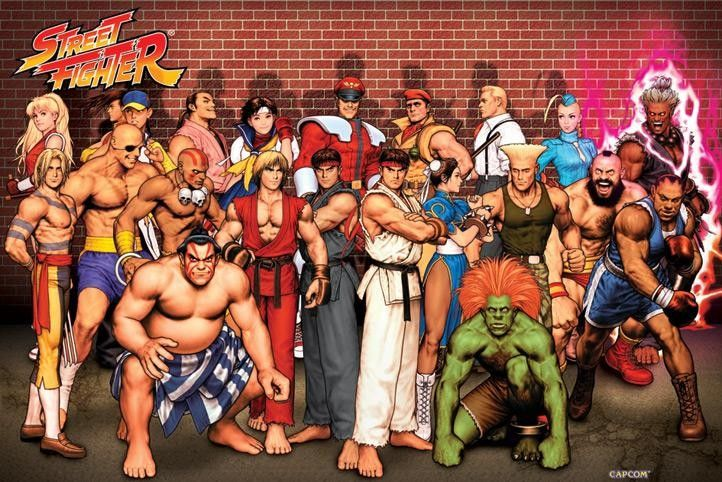 The women of Capcom's Street Fighter video game franchise
