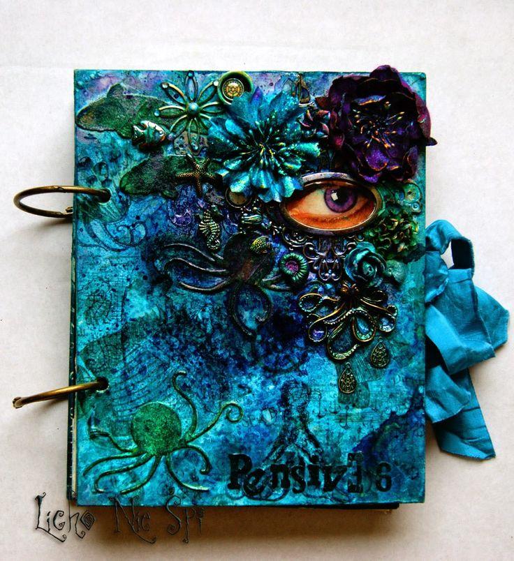 Sea Creatures Art-journal cover #6