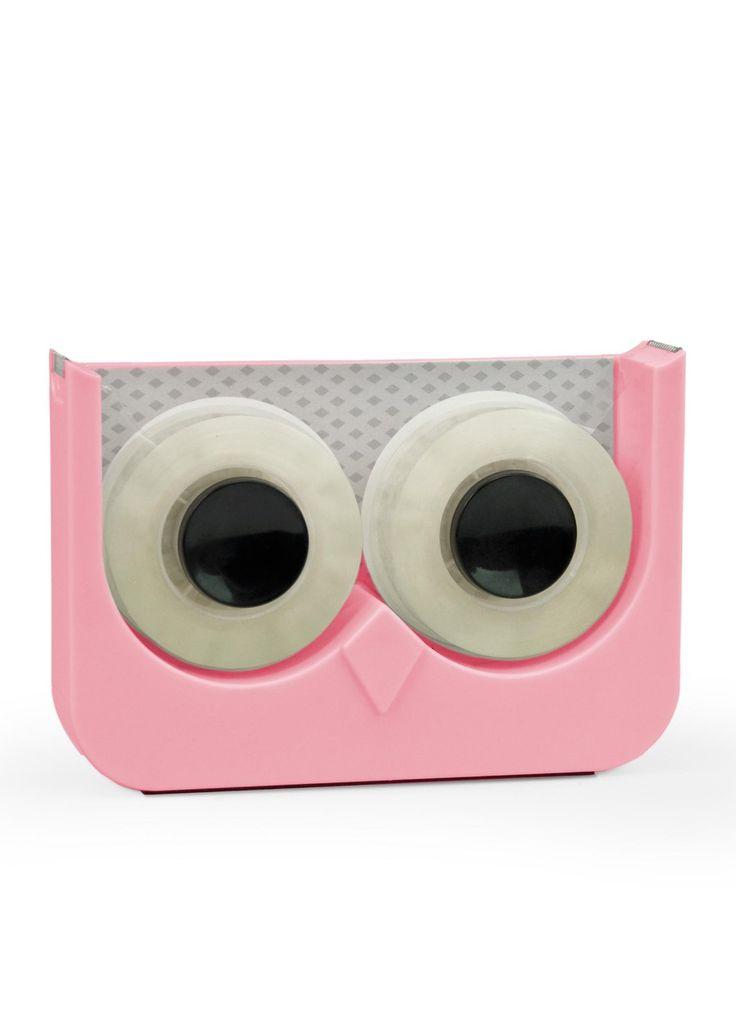 Owl tape dispenser