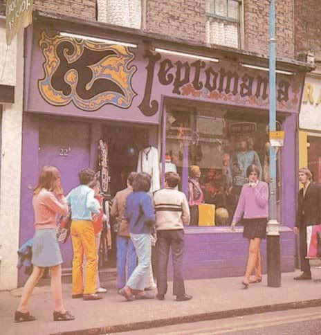 Kleptomania boutique London, 60s