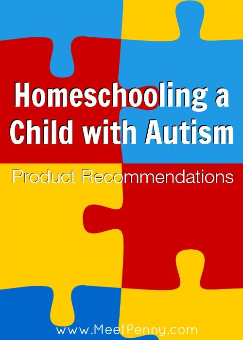 Products for Homeschooling a Child with Autism