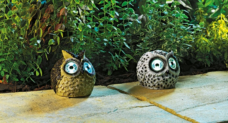 Allow these quirky owls from Argos to light up your path