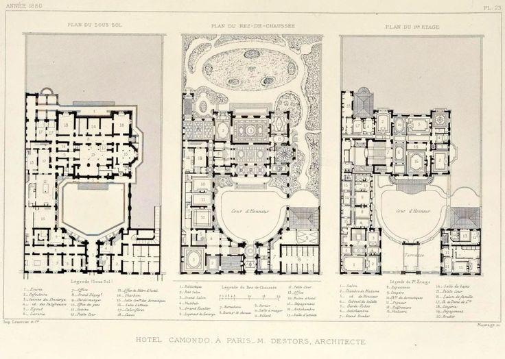Villa Ephrussi De Rothschild Floorplan