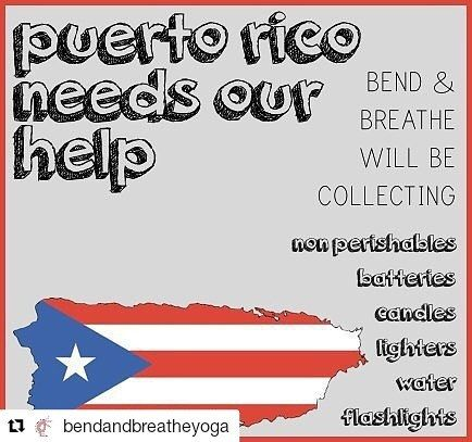 Credit to @bendandbreatheyoga  we will be collecting donations for our brothers & sisters in puerto rico- anything helps! drop off & receive a guest pass for a drop in class  #puertorico #hurricaneyoga #yogaeverydamnday #bendandbreathe #letshelp #southfloridayoga #prayforpuertorico    #HollywoodTapFL #HollywoodFL #HollywoodBeach #DowntownHollywood #Miami #FortLauderdale #FtLauderdale #Dania #Davie #DaniaBeach #Aventura #Hallandale #HallandaleBeach #PembrokePines  #Miramar #CooperCity…
