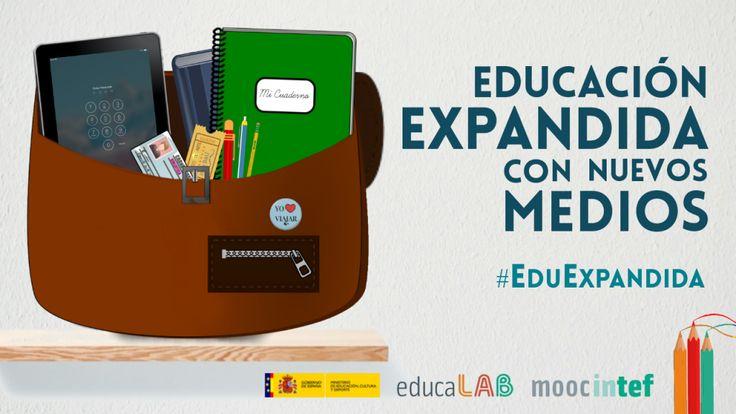 Imagen presentación del MOOC sobre educación expandida del INTEF