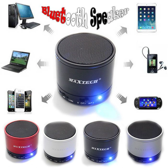 Portable Super Bass Wireless Bluetooth Speaker with Mic For Mobile Phone…
