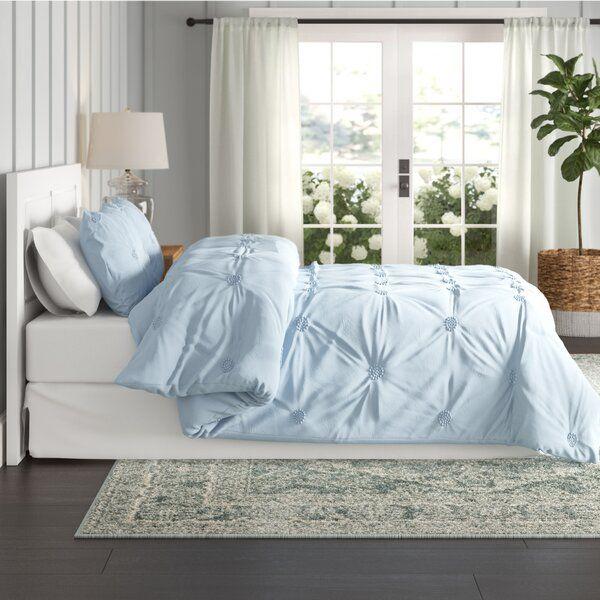 Beckman Luxurious Comforter Set Baby Blue Bedrooms Bed Comforter Sets Comforter Sets