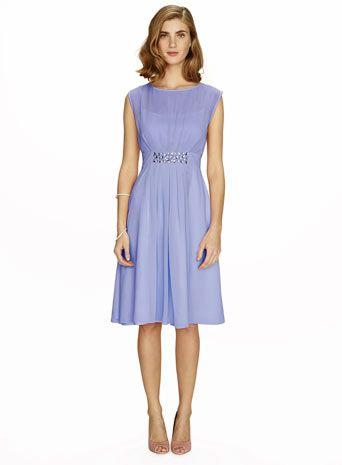 Amelia Cornflower Short Dress Is it blue enough for you?!