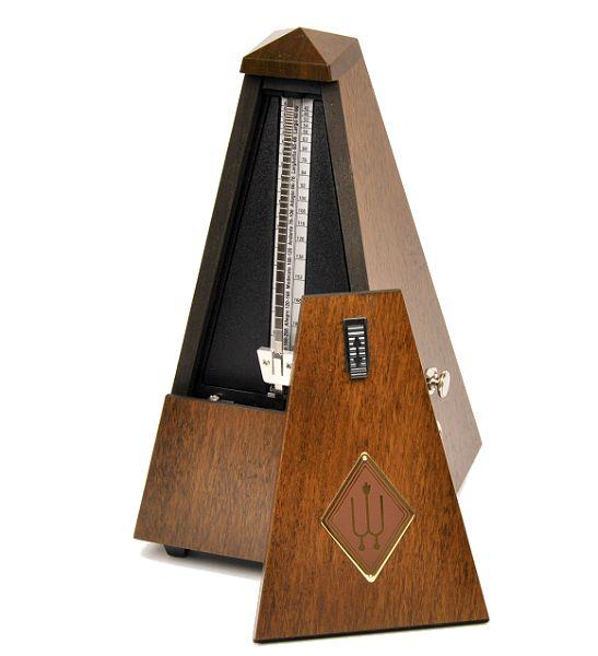Metrónomo de cuerda Wittner Piramide 814-M Nogal