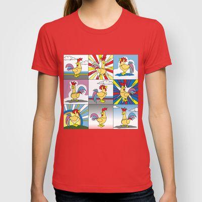 Morning Chicken T-shirt $22