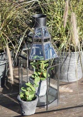 Laterne Botanica 8-eckig