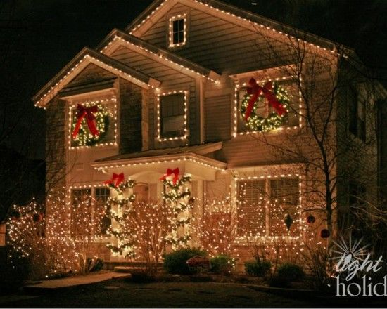 Exterior Christmas Lights Design