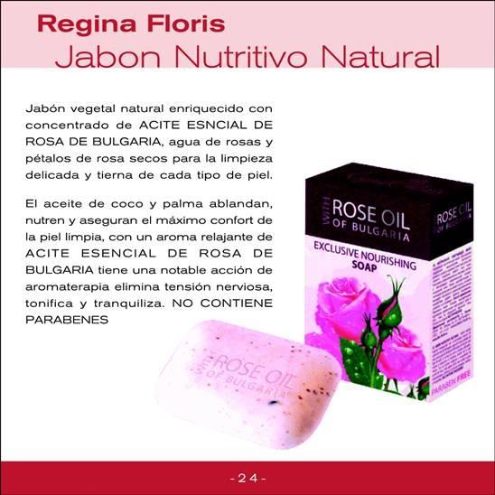 Jabón nutritivo 100% natural Regina Floris PVP: 9,31 €